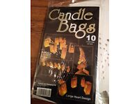 Candle bags for outside
