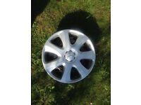 Mitsubishi steel wheels