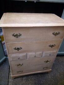 Stag 7 drawer tall boy