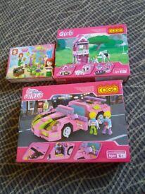 Girls toys sets