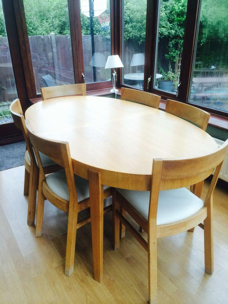 Ikea oval dining table amp 6 chairs in Leigh on Sea Essex  : 86 from www.gumtree.com size 768 x 1024 jpeg 100kB