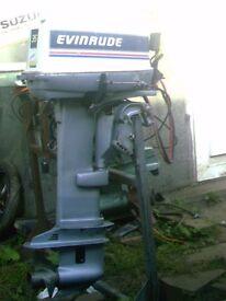 OUTBOARD ENGINE EVINRUDE 35HP LO/SH EL/ST PU/ST