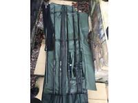 Used various carp fishing gear