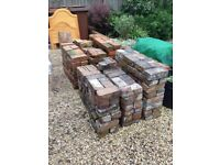 Reclaimed Imperial Common and Blue Bricks