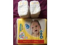 New baby nappy size 1