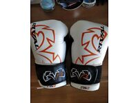 QUALITY RIVAL RS11V 16oz. Professional Sparring Gloves - White