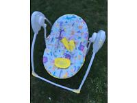 Lullaby baby swing seat