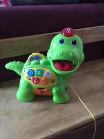 Vtech learning dinosaur