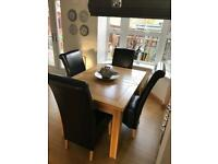 Next Dining Room Table with 4 chairs