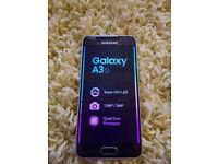 Samsung Galaxy A3 Gold brand new 16GB