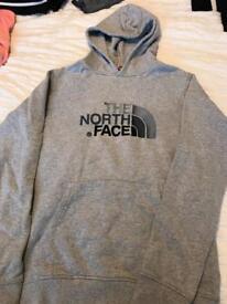 Boys north face hooded jumper