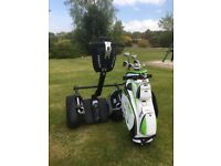 Segway X2 complete with golf bag carrier very little used.