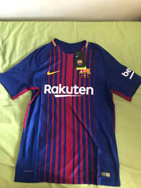 Fc Barcelona Home Shirt 2017/18 NEW! Nike Size M and L