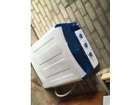 Semi-automatic washing machine .