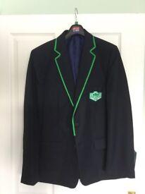 Lenzie Academy boys blazer new with tags 38 inch chest