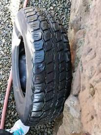 Commercial van tyres