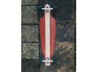 Globe longboard skateboard in very good condition, perfect for summer