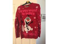 Frozen Themed Christmas jumper