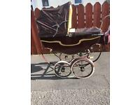 1940's dolls teddy bears pram excellent condition for age