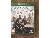 xbox one assissins creed unity game