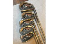 Used set of Ping i10 Irons (5-9) in good condition.