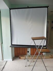 FINS (milano italy) screen and projector stand