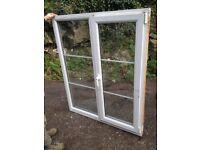 UPVC opening double glazed window