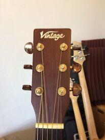 Vintage v600 Acoustic Guitar