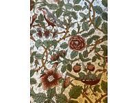 Single William Morris Curtain.