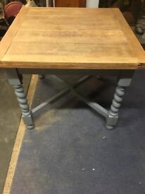 Refurbished Oak Dining Table