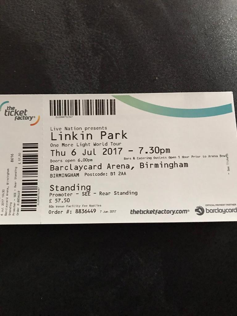 Linkin Park Tickets Köln
