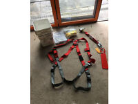 Roofers Safety Harness, Ropes Anchors, Safety Line and roof Anchor
