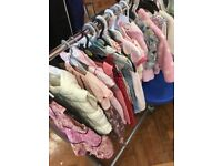 Baby girls clothes 6-9 months