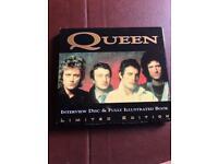 Queen interview CD