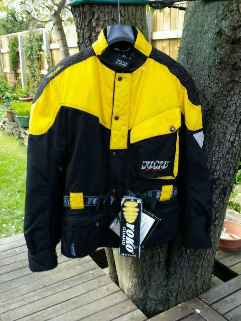 Yoko motorcycle gloves - Yoko For Moto Cordura Gore Tex Motorcycle Jacket New Small