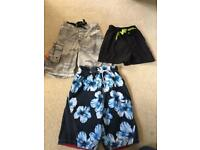 4-5 year swimming shorts