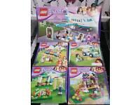 Lego Friends 1 large set, 4 medium