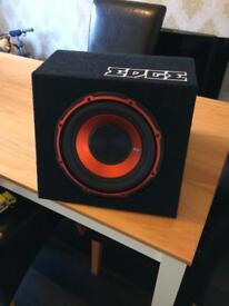 """Edge 10"""" subwoofer with built in amplifier"""