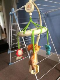 Mothercare Wind Up Musical Mobile
