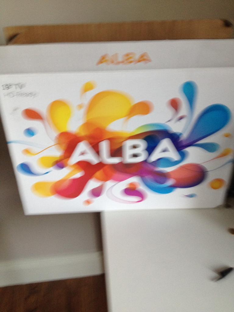 "19"" Alba 720 Hd ready tv"