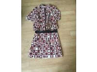 Ladies 2 piece skirt and top