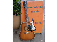 Eros 1970s acoustic guitar. Made in Italy. Vintage 1970s