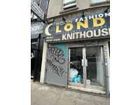 Ground floor and basement shop- lease with no premium