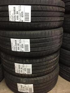 225/55/18 Michelin Denfender XT allseasons tires