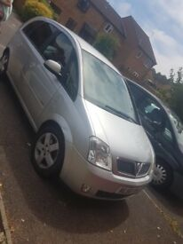 silver vauhall meriva for spares