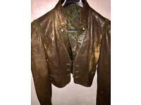 Women's Vera Pelle leather jacket