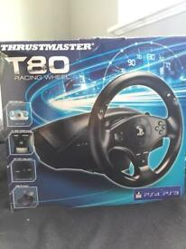 T80 Thrustmaster Racing Wheel PS4/PS3