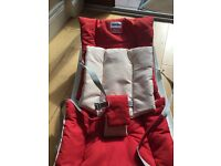 baby bouncer rocker chair - modern /stylish Spanish design Inglesina loft Red And Cream