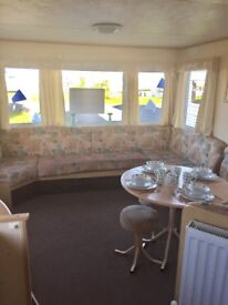 Cheap double glazed & central heated caravan for sale in Northumberland