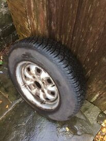 Ford Cortina Mk 3 wheel and tyre